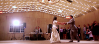 holman ranch wedding lightbulb videography