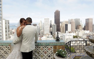 San Francisco regency ballroom wedding videographers